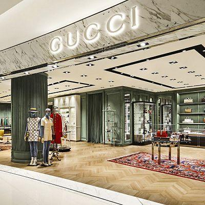 In Moscow, a new boutique Gucci