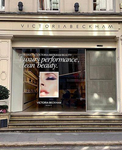 Victoria Beckham's first collection of cosmetic brand released