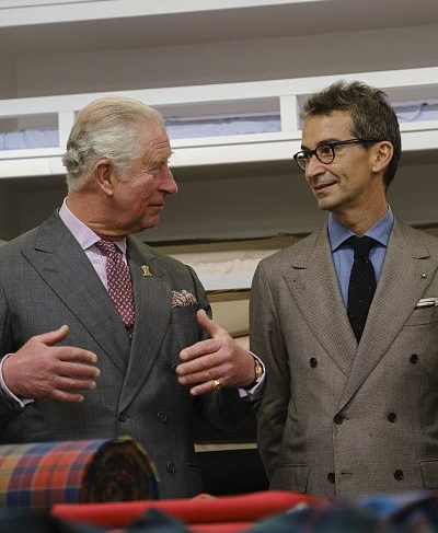 Prince Charles will release a collection of clothes
