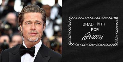 Brad Pitt – the new face of the brand Brioni