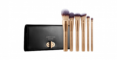 Make-up artist Kim Kardashian released a set of brushes in collaboration with Sephora