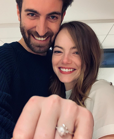 Boys don't cry: Emma Stone is getting married
