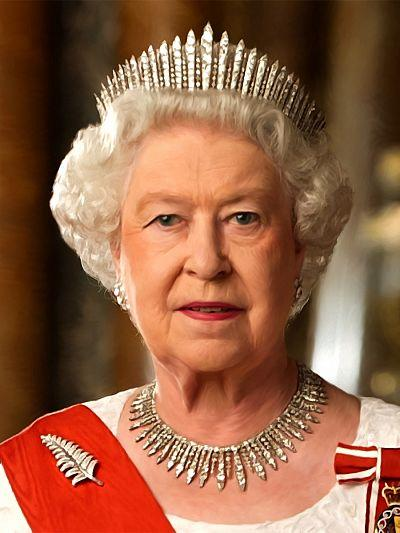 Queen of Great Britain thoroughly prepared for Christmas