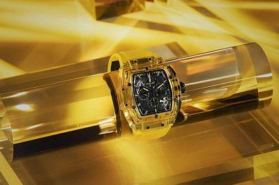 Hublot opens up new horizons with the new Spirit of Big Bang Yellow Sapphire sapphire watch