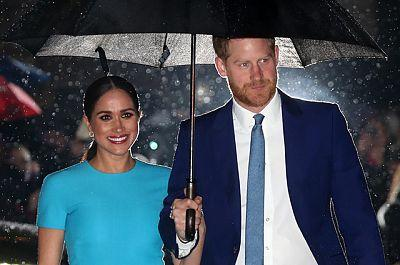 Meghan Markle and Prince Harry support Clap for our Carers flash mob