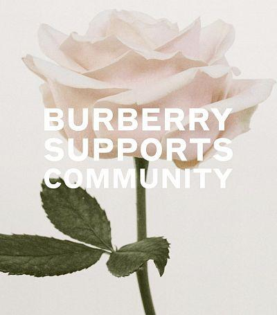 Burberry plans to fund vaccine research and redesign its factory for the production of bathrobes and masks