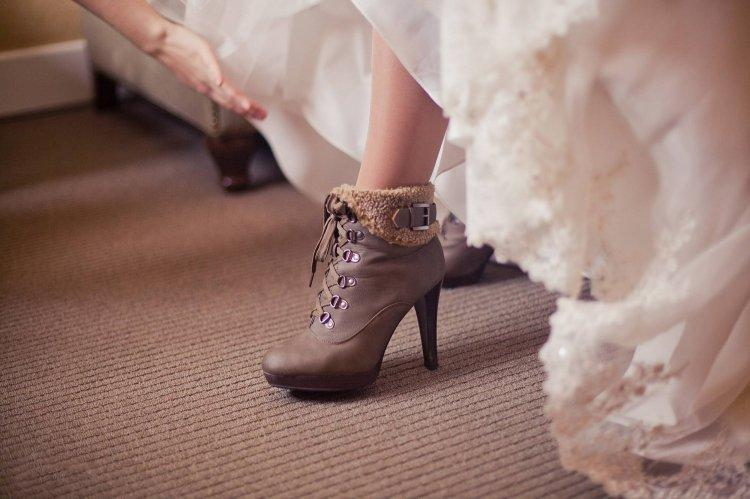 Ankle boots for a wedding