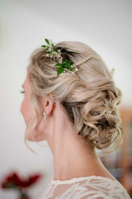 Greek style hairstyle