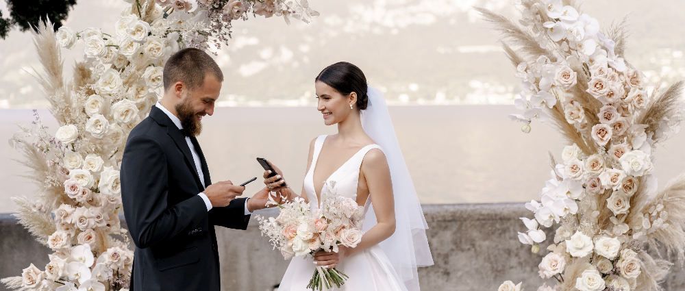 """""""You are my heart"""": wedding in Italy"""